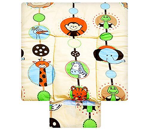 BEST FOR KIDS- SPECIAL COSY BIBLE Tapis à langer 100% coton Tapis de table à langer 3 en 1 sur 70x70 avec standard Oeko Tex