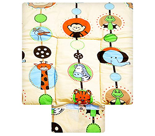 BEST FOR KIDS- Changing Mat/ Changing Table Cloth- 3-in-1 Special Soft and Cuddly made from 100% Cotton Oeko Tex Standard 100 in 3 sizes 70x70
