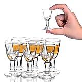 6PACK 10ml, 0.4oz Mini Wein Shot Glas Shooter Wein Spirituose Sake Alkohol Tassen Schnapsglas - Klein Trinkgläser für Tequila Vodka Schnapsgläser Gläser Chinese Baijiu Glass Shot Glasses
