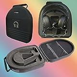 TDG Headphone Suitcase Carry case boxs for Steelseries Elite Prism, Siberia V2, V3 and Razer Kraken 7.1 Chroma,Orca,ManO'War Wireless 7.1 Surround Sound Gaming,BlackShark,Tiamat Headset
