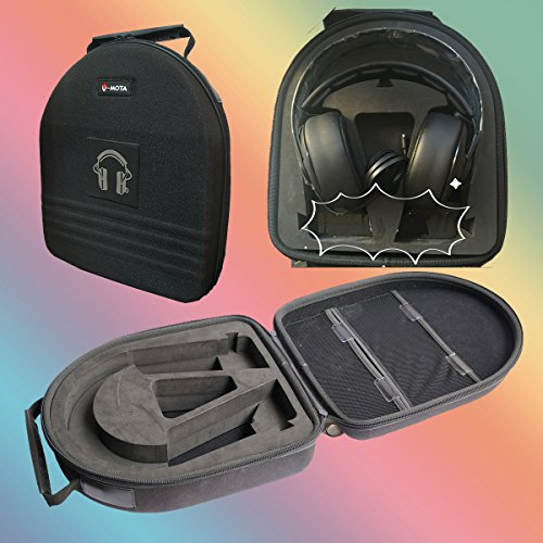 V-MOTA TDG Headphone Suitcase Carry case boxs for Plantronic BackBeat FIT 6100 Wireless,BackBeat PRO 2 Pro2 Bluetooth,Rig 800HS Voyager 8200 UC Headset