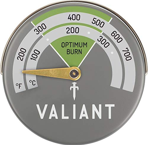 Valiant FIR116 Thermometer, Grün/Grau 63 mm