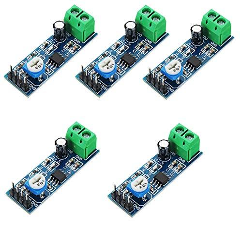 HiLetgo® – LM386 Audio-Verstärker / Modul für Raspberry Pi / Arduino, 5 Stück