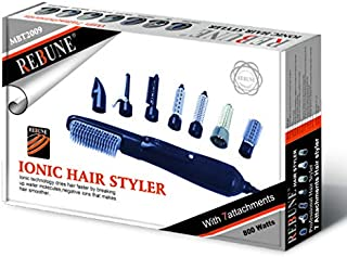 Rebune Hair Styler 8 in 1 Hair Style 800 Watts, Blue, MBT2009