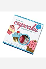First Time Cupcake Decorating Kit: Includes Tools For Decorating Cupcakes With Piped Buttercream Designs Misc. Supplies