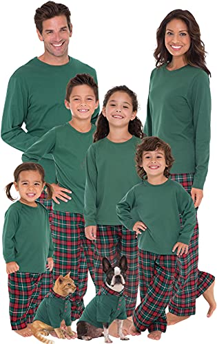 Pajamagram Matching Christmas Pjs For Family, Red/Green, Womens, XL