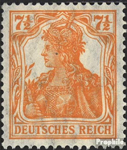 Prophila Collection Tedesco Empire 99a 1916 Germania WZ 1 / Complemento-Valori (Francobolli per i Collezionisti)