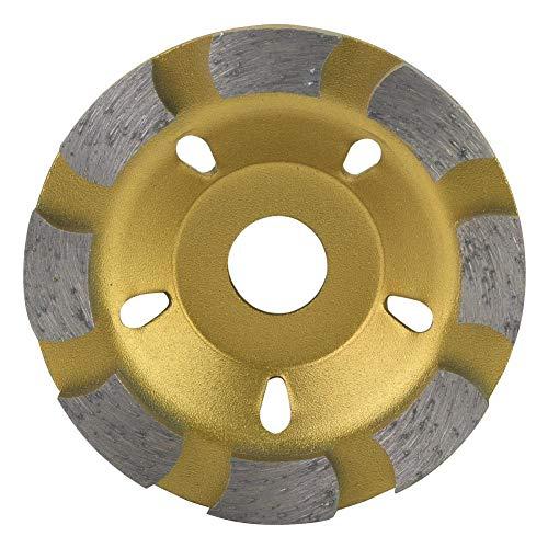Diamantschleifscheibe 80mm Diamant Segment Schleifscheibe Cup Schneidscheibe Diamant Schleifscheibe für Beton Marmor Granit