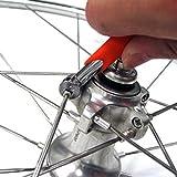 ONOGAL Llave Super B para Centrar Radios Llantas Shimano 4.3 mm 4.4 mm Bicicleta 3726