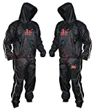 2Fit Heavy Duty Sweat Suit Sauna Exercise Gym Suit Fitness, Weight Loss, AntiRip (Medium)