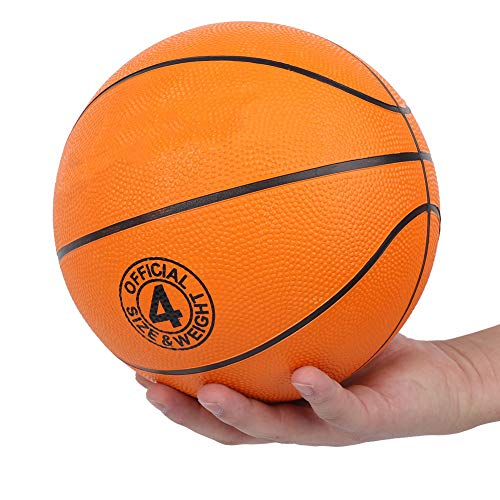 %5 OFF! Alomejor Rubber Basketball Outdoor Indoor Mens Basketball Ball Composite Basketballs for Kid...