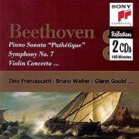 Concerto per violino op 61 (1806) in RE Concerto per piano n.3 op 37 in do (1800?) Sonata per piano n.8 op 13 'Patetica' (1798) in do Missa solemnis op 123 in RE (1819 23) Sinfonia n.7 op 92 in LA (1812)