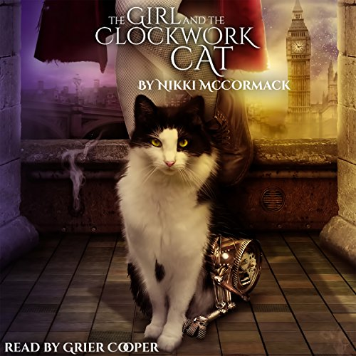 The Girl and the Clockwork Cat cover art