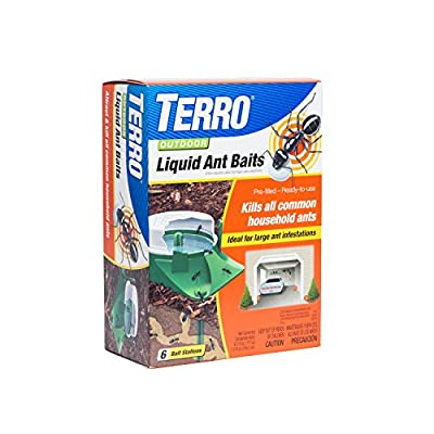 Terro 1806 Outdoor Liquid Ant Baits, 1.0 fl. oz. - 6 count