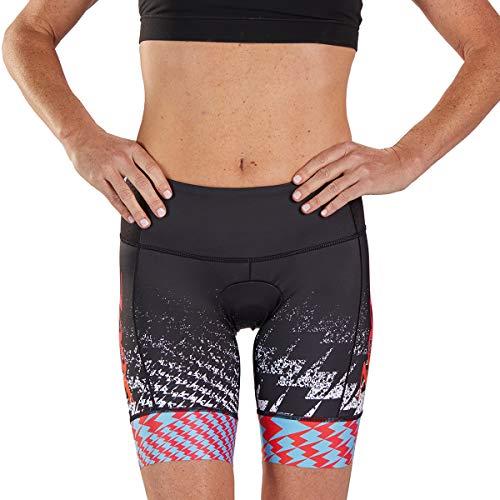 Zoot Pantalon de 7 Pouces pour l'ultra-Triathlon féminin avec Coussin de siège en Carbone, 2 Poches sur Les Hanches, Pince en Silicone et Grande Poche à l'arrière Taille XL