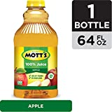 Mott's Original Apple 100% Juice, 64 Fluid Ounce Bottle