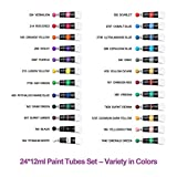 Immagine 2 35 pezzi acrilici set pittura