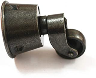 """1.8"""" Solid Brass Vintage Round Cup Caster In Castor Swivel Wheel Caster for Furniture Brown"""