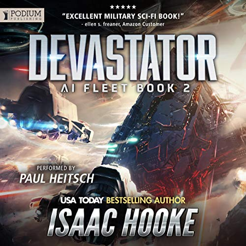 Devastator audiobook cover art