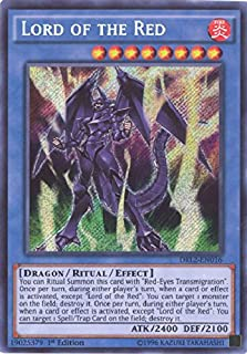 Yu-Gi-Oh!! - Lord of The Red (DRL2-EN016) - Dragons of Legend 2 - 1st Edition - Secret Rare