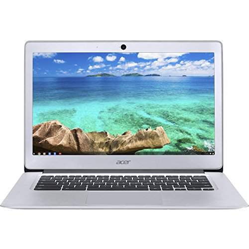 Acer 14in Chomrebook, Intel Celeron N3160 1.60 GHz, 4GB Ram, 32GB Flash, Chrome OS | CB3-431-C5FM ( Renewed)