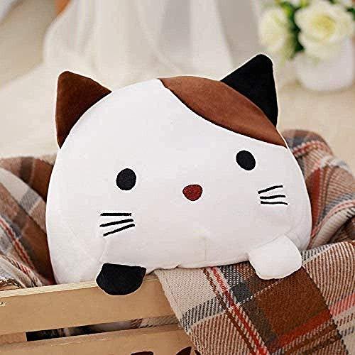 Juguetes de peluche Caliente reative Navidad del gato de felpa es for los niños Los niños Relleno de Down algodón almohada animal de la historieta de la muñeca del regalo de cumpleaños Amor de una vid