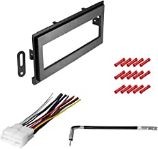 CACHÉ KIT2069 Bundle with Complete Car Stereo Installation Kit Compatible with 1995–1997 Chevrolet Blazer S10 – in Dash Mounting Kit, Antenna for Single Din Radio Receiver (4 Item)