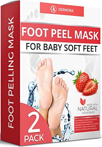 Foot Peel Mask - 2 Pack - For Crack…
