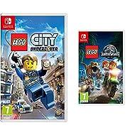 LEGO City Undercover (Nintendo Switch) & LEGO Jurassic World (Nintendo Switch)