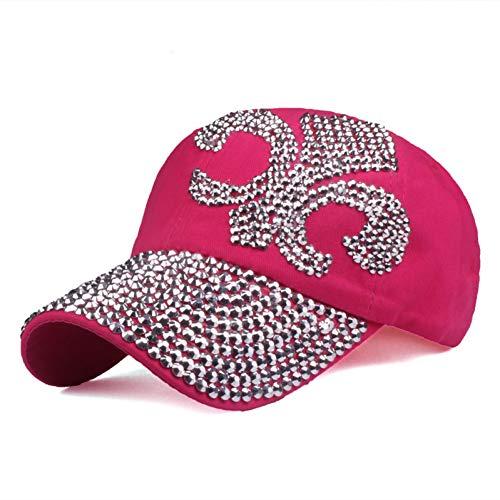 Gorra de Beisbol Sombreros Sombreros Parasol Hombres Y Mujeres Gorra De Béisbol Rhinestone Sombrero Denim Y Algodón Snapback Cap Hip Hop