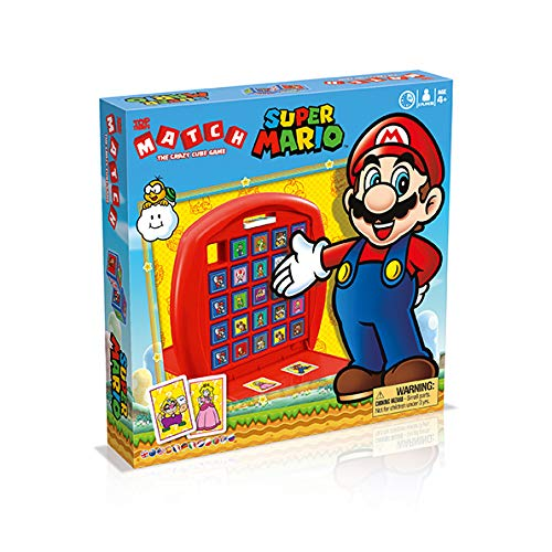 TOP TRUMPS MATCH - Super Mario - Super Mario Merch - Alter 4+ - Deutsch