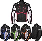 Best Armored Motorcycle Jackets - Motorcycle Jacket For Men Textile Motorbike Dualsport Enduro Review