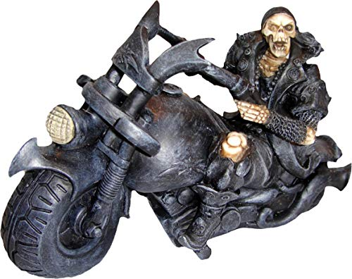 Nemesis Now Figur Screaming Wheels 15 cm, Kunstharz, Einheitsgröße, Schwarz