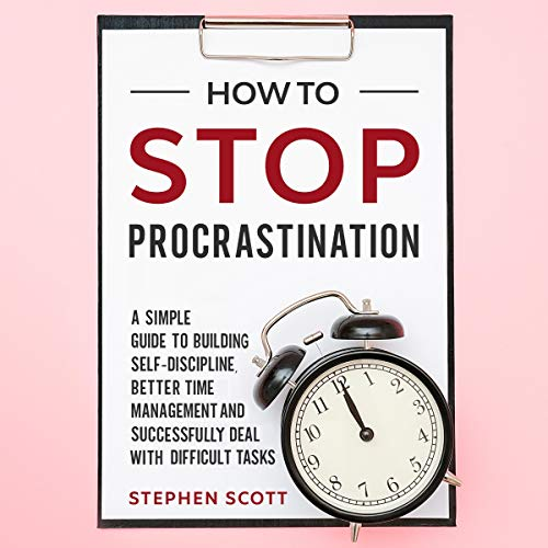 How to Stop Procrastination cover art