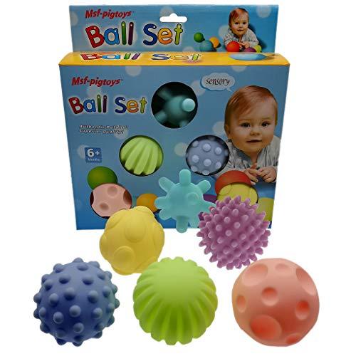 Mikiya Baby Sensory Toy Ball Early Education Jouets éducatifs Spécial Anniversaire Cadeau