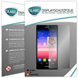2 x Slabo Bildschirmschutzfolie Huawei Ascend P7 Bildschirmschutz Schutzfolie Folie