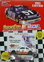 Racing Champions 1993 Edition Alan Kulwicki - 1992 NASCAR Champion - No. 7 Hooters Ford Thunderbird - 1:64 Scale Replica Stock Car