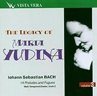 The Legacy of Maria Yudina. Vol.3 by Yudina Maria
