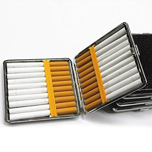 Beste Kwaliteit - Sigaret Accessoires - Zwart Opbergdoos Box Container Accessoires Aansteker Faux Lederen Metalen Frame Huishoudelijke merchandises 1 st - door Rocco - 1 PC's