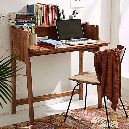 Furinno Sheesham Wood Writing Study Table for Living Room...