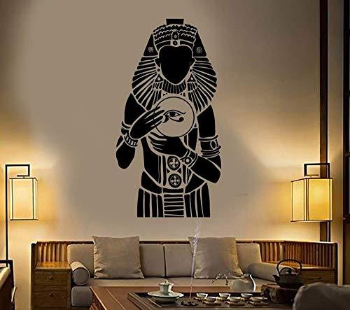 Regla Tribal Antiguo Egipto faraón egipcio Dios ojos pegatina de pared vinilo arte calcomanía dormitorio sala de estar Oficina estudio decoración del hogar Mural