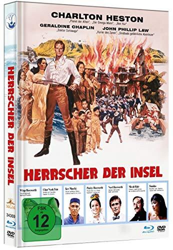 Herrscher der Insel - Limited Mediabook-Edition (DVD+Blu-ray / HD neu abgetastet / plus Booklet)