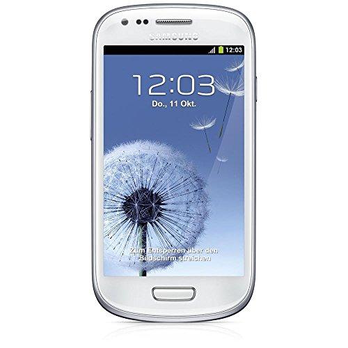 SAMSUNG Galaxy S3 Mini I8190 Smartphone (10,2 cm (4 Zoll) AMOLED Display, Dual-Core, 1GHz, 1GB RAM, 5 Megapixel Kamera, Android 4.1) Marble-White (Zertifiziert und Generalüberholt)