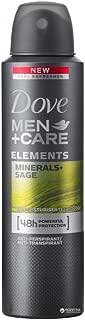 Dove Men+Care Minerals + Sage Deodorant 150ML 5.07oz (Pack of 6)