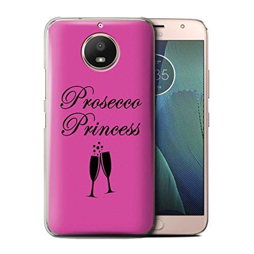 Stuff4®®®®®®®®®®®®®®®®®®®®®®®®®®®®®® Phone Case/Cover/Skin/Moto-CC/Prosecco Fashion Collection Motorola Moto E4 Plus 2017 Prosecco Princess/glas