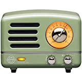 Retro Bluetooth Speaker, MUZEN OTR Vintage Wireless FM Radio with Loud Volume, Portable Bluetooth Speaker,Gift for Family Friend Birthday Holiday Outdoor Home Décor Camping Car - Mint Green