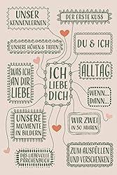 Ich liebe Dich...Das liebevolle Pärchenbuch zum Ausfüllen und Verschenken: Paare Buch zum ausfüllen und Pärchengeschenk für sie und ihn, Eintragbuch ... A5 Hochglanz Softcover mit 90 Seiten