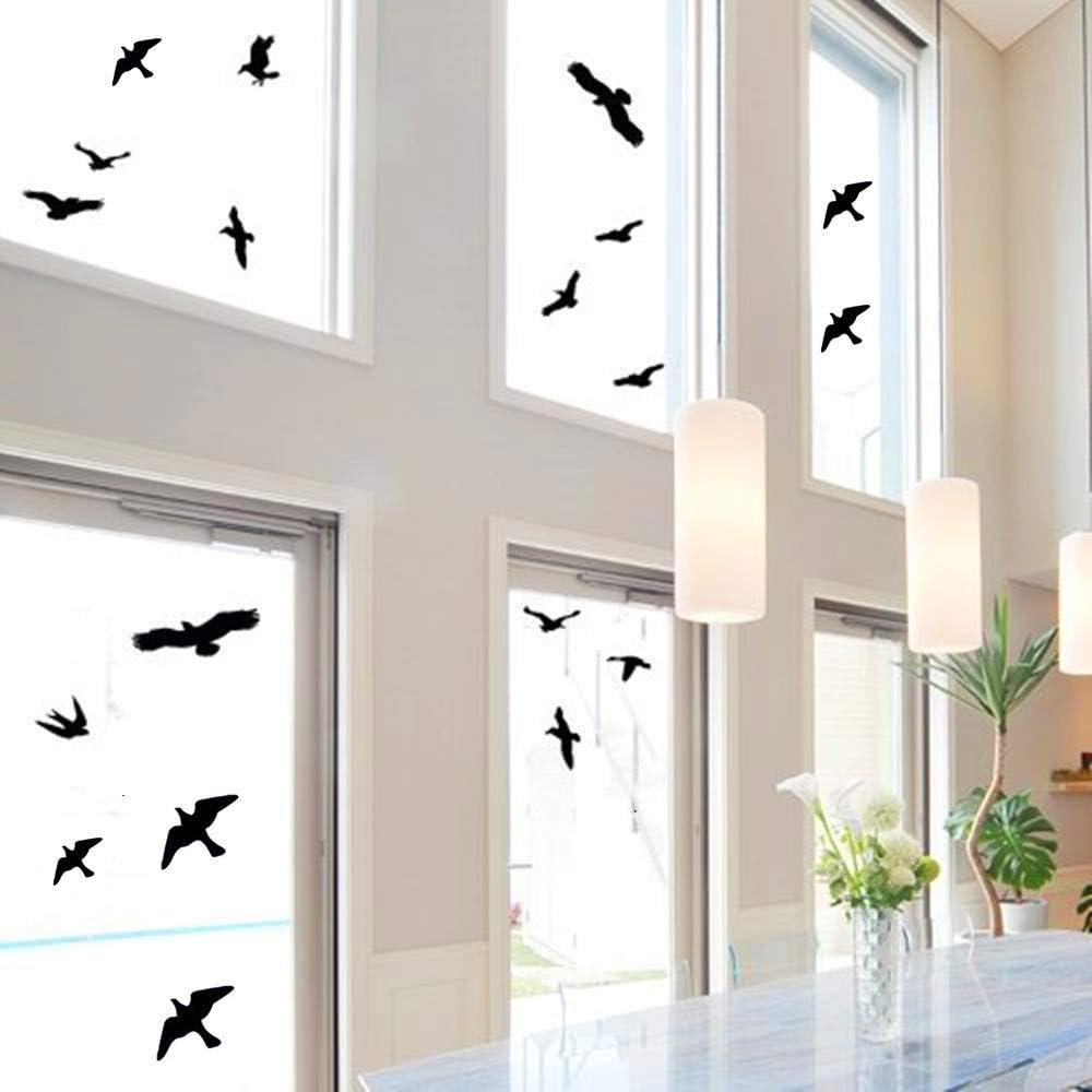 Window Alert Bird Stickers Silhouettes Anti-Collision trend rank Decals Regular discount Gl