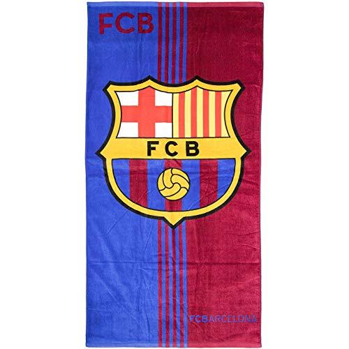 Brandunit FC Barcelona - Toalla de baño (70 x 140 cm, talla única)
