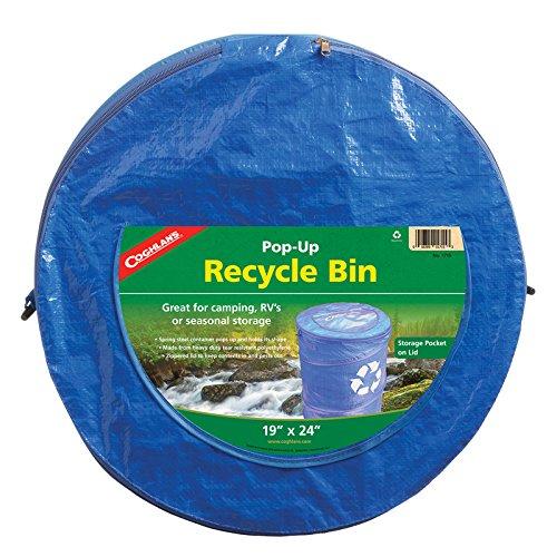 "Coghlan's Pop-Up Recycle Bin, Blue , 19"" x 24"""